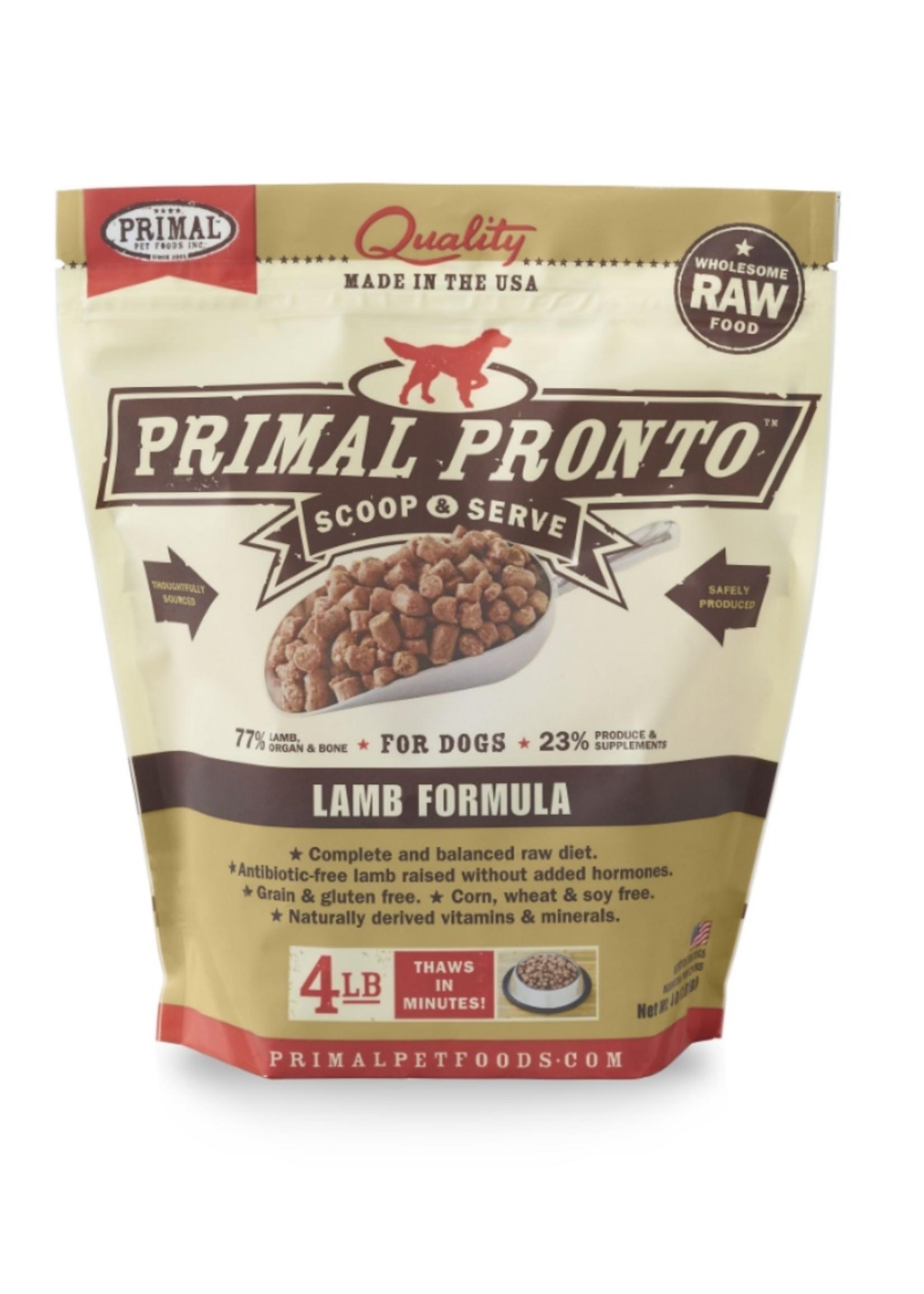 PRIMAL PET FOODS Primal Raw Lamb Formula