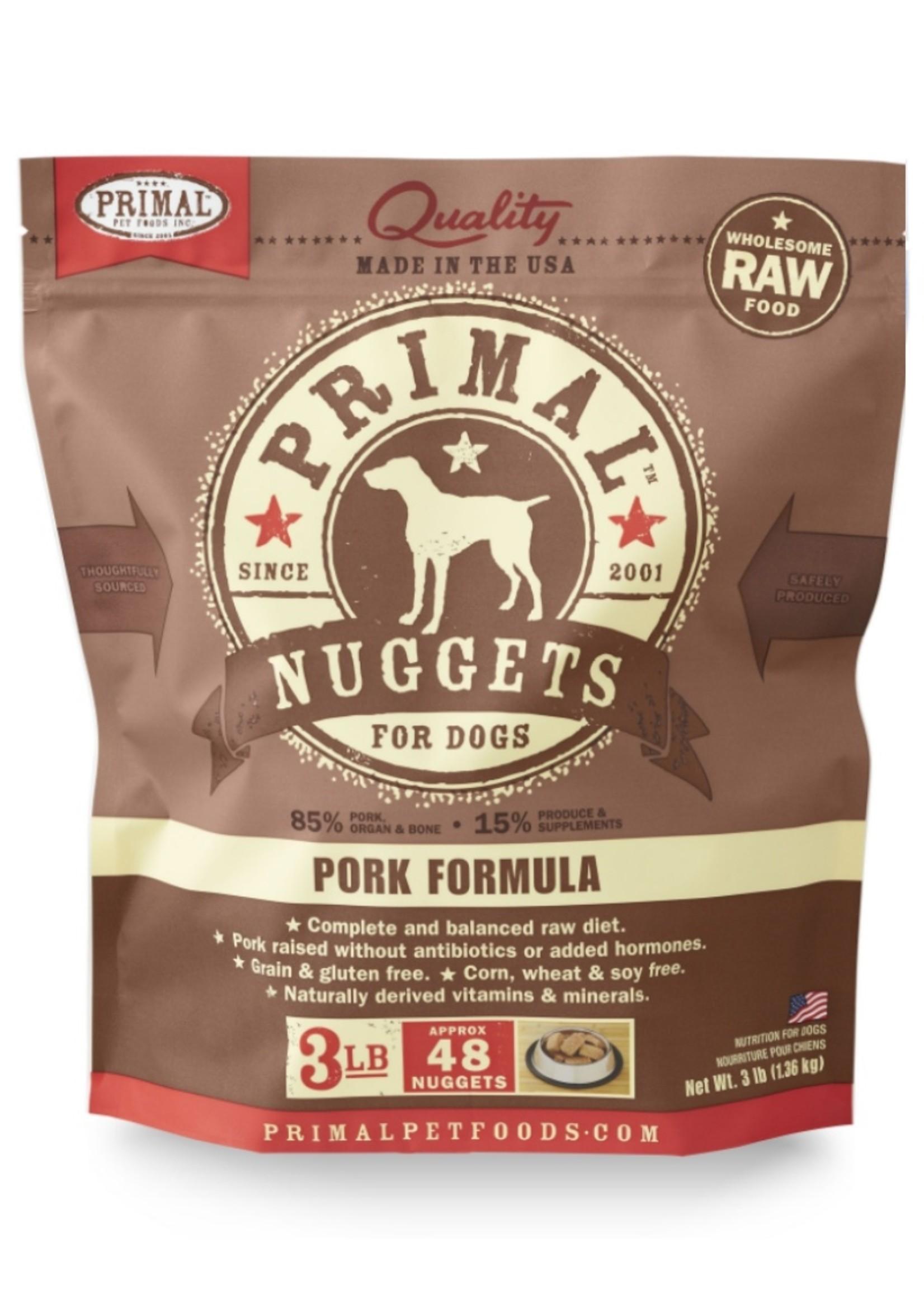 PRIMAL PET FOODS Primal Raw Pork Formula