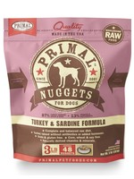 PRIMAL PET FOODS PRIMAL RAW TURKEY & SARDINE FORMULA