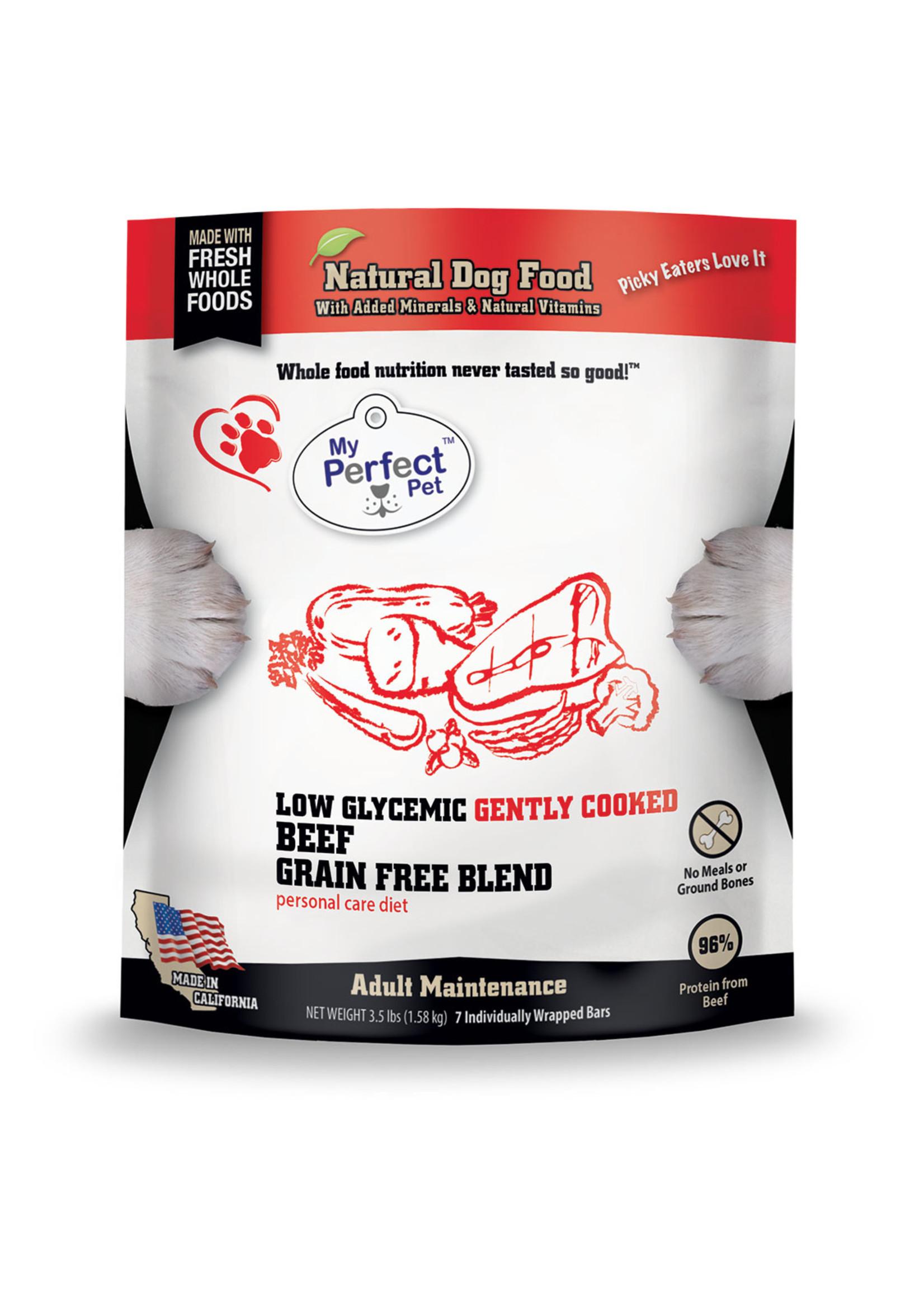 MY PERFECT PET Potato-free, Grain-free Beef Blend (Low Glycemic Beef Blend)