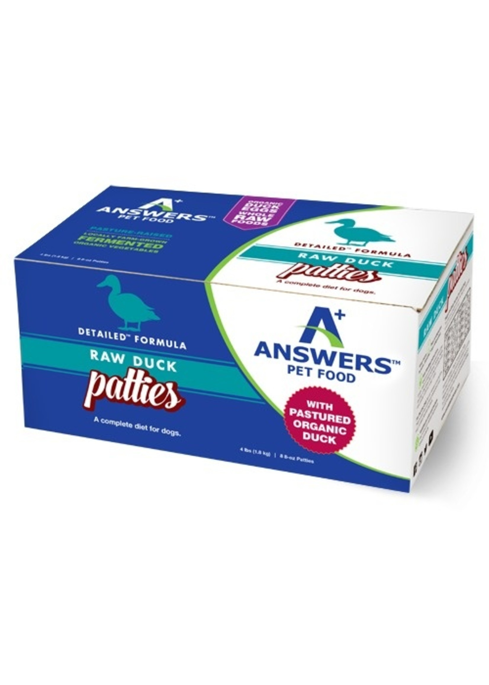 ANSWERS Answers Detailed Duck