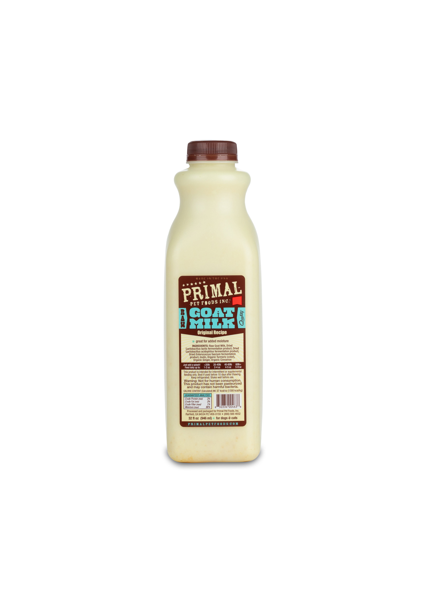 PRIMAL PET FOODS Primal Goat Milk