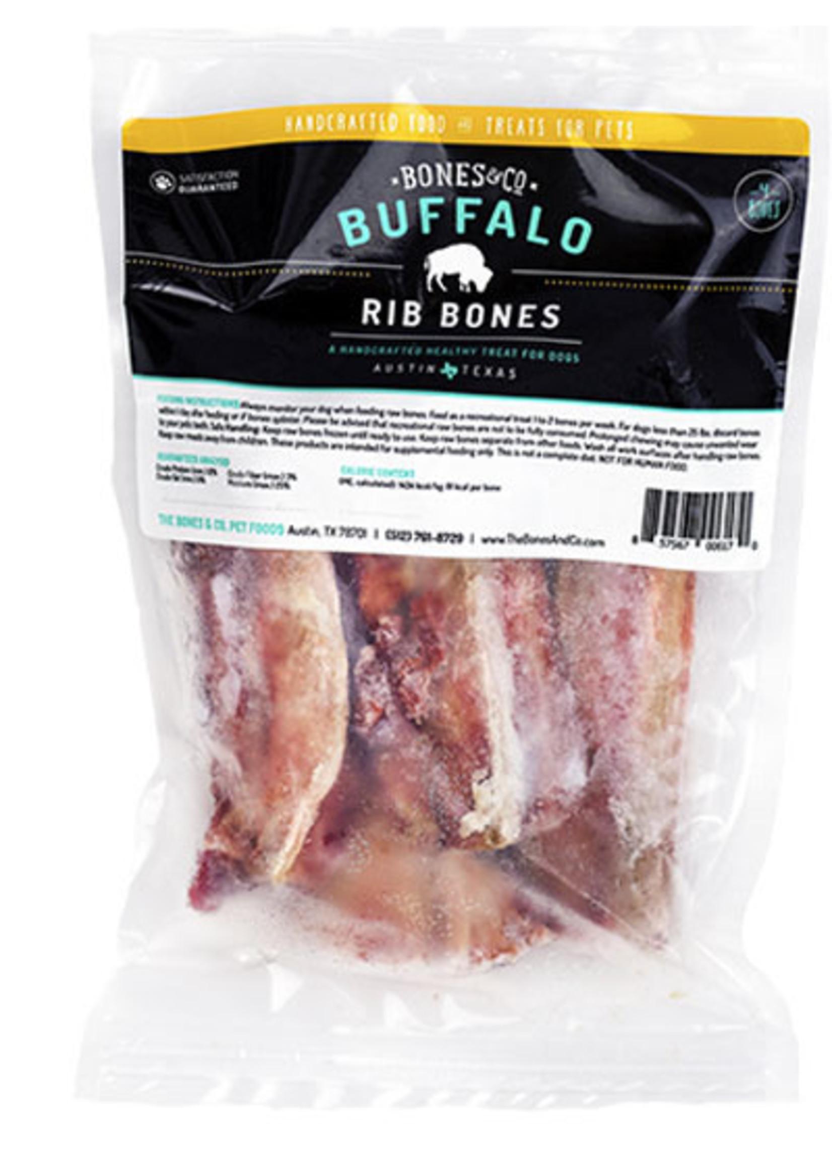 BONES & CO Bones & Co Buffalo Ribs 4 pack