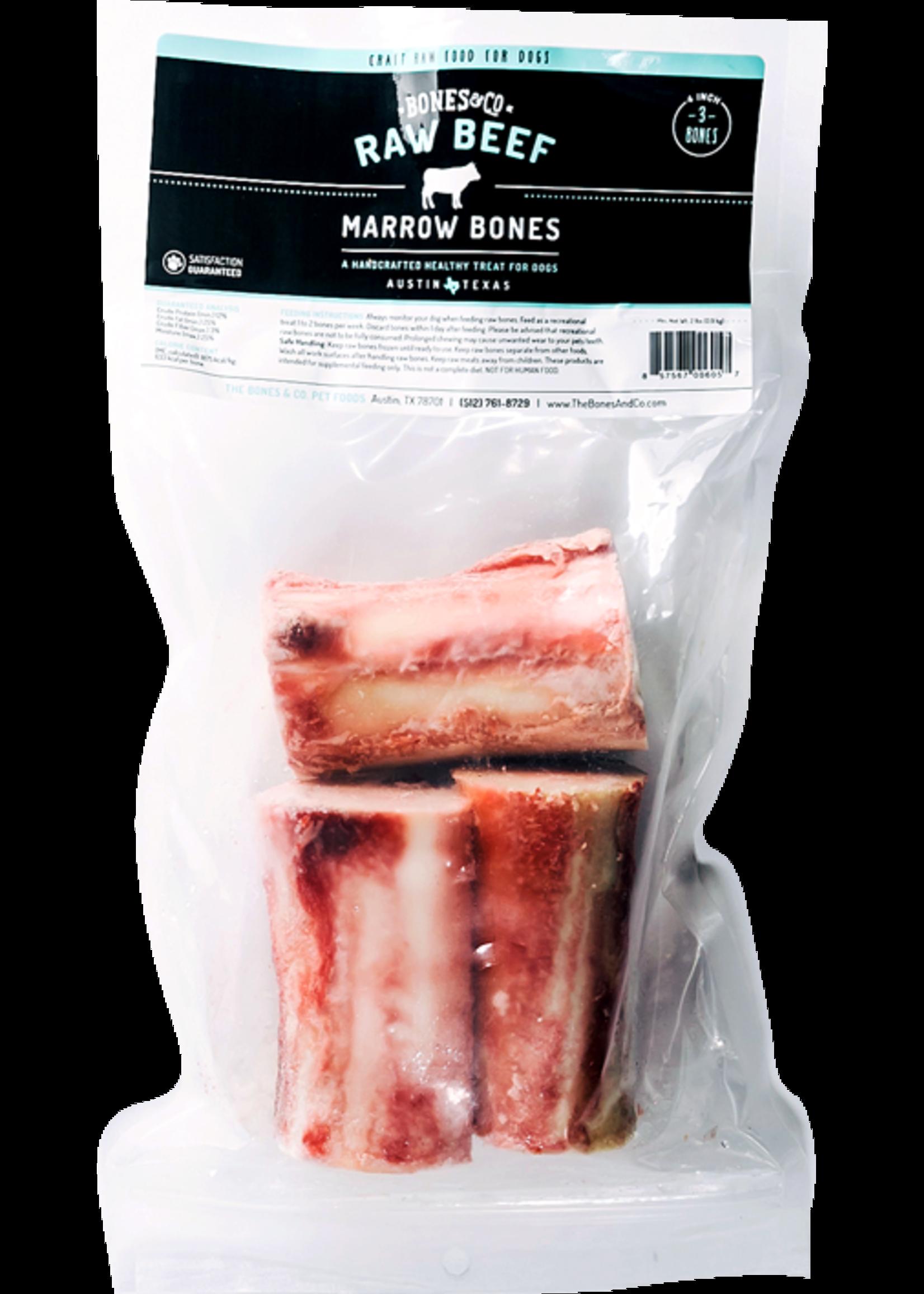 """BONES & CO Bones & Co Beef Bones 4"""", 3 Pack"""
