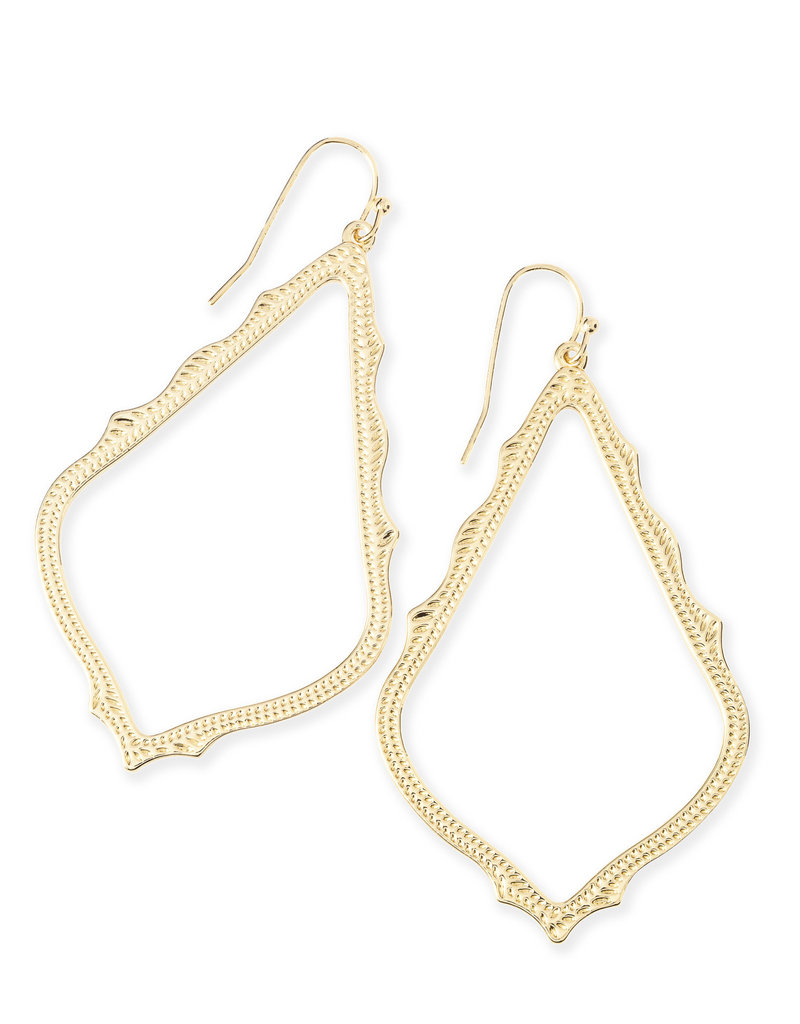KENDRA SCOTT SOPHEE DROP EARRING IN GOLD