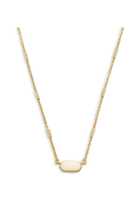 KENDRA SCOTT FERN PENDANT NECKLACE IN GOLD