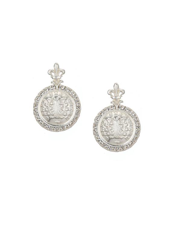 FRENCH KANDE La Rochelle Earrings Silver