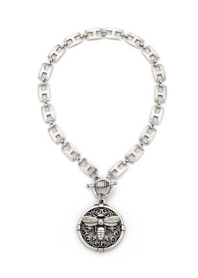 FRENCH KANDE HENRI CHAIN WITH AVIGNON AND MIEL PENDANT