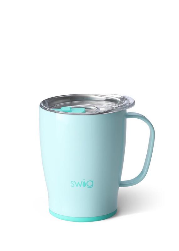 SWIG Glossy Seaglass Mug  (18 OZ)