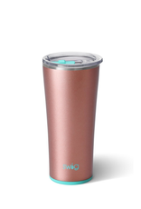 SWIG SHIMMER ROSE GOLD TUMBLER (22 OZ)