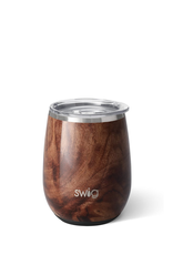 SWIG BLACK WALNUT STEMLESS WINE CUP (14 OZ)