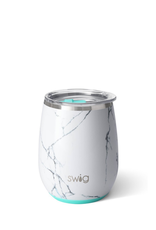 SWIG Marble Stemless Cup   (14 OZ)