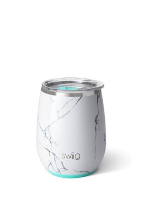 SWIG MARBLE SLAB STEMLESS WINE CUP (14 OZ)