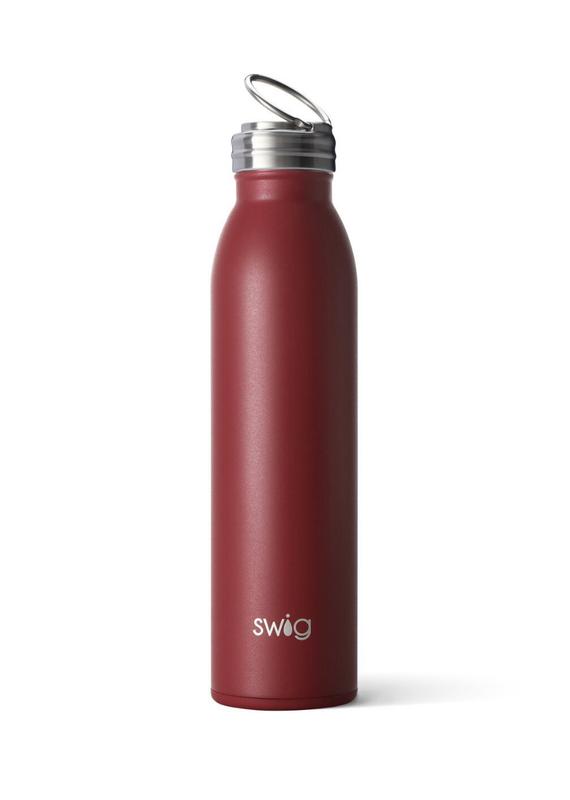 SWIG Matte Maroon Bottle  (20OZ)