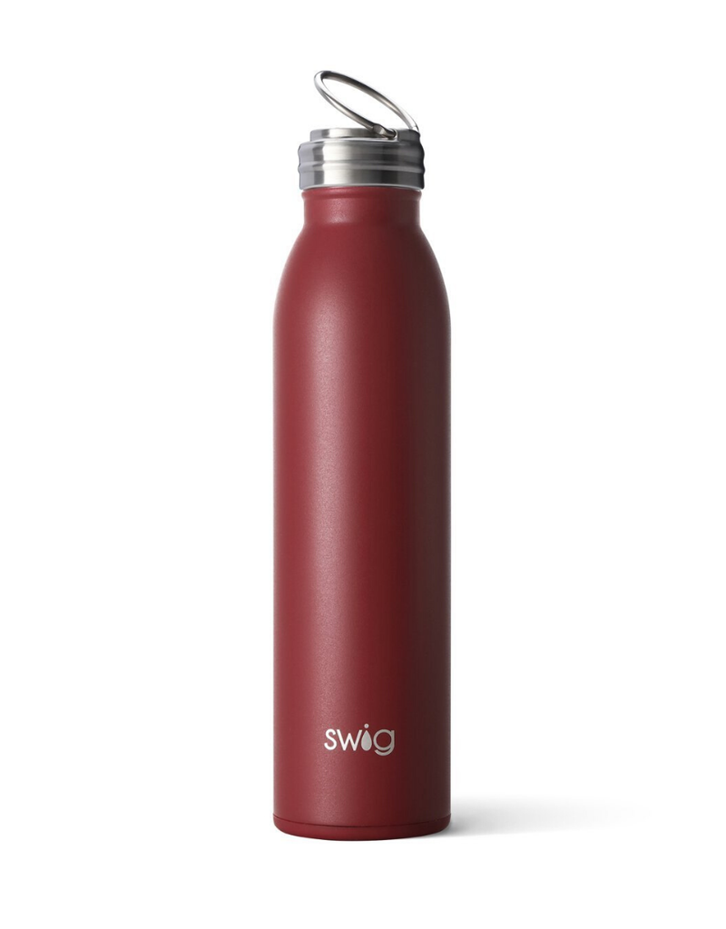 SWIG Matte Maroon Bottle  (20OZ)