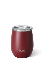 SWIG Matte Maroon Stemless Cup  (14OZ)