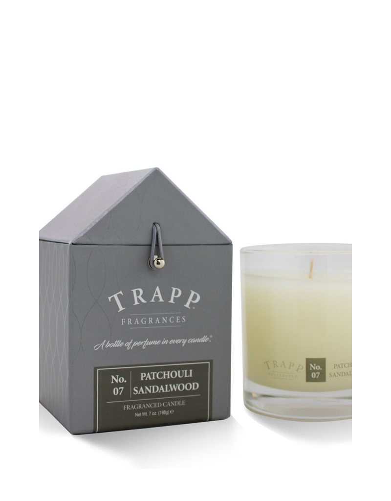 TRAPP CANDLES NO. 7 PATCHOULI SANDALWOOD 7 OZ