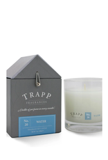 TRAPP CANDLES NO. 20 WATER 7 OZ