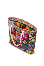 CONSUELA ALLIE TILES SLIM TOTE