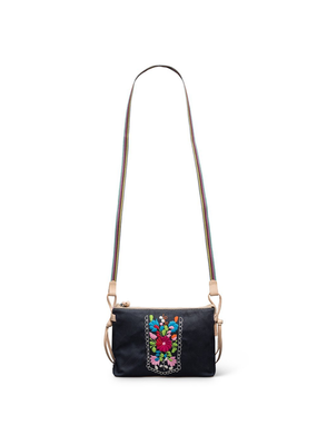 CONSUELA AURORA NAVY CANVAS MIDTOWN CROSSBODY
