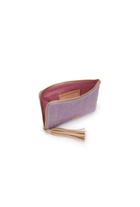 CONSUELA MOIRA L-SHAPED CLUTCH