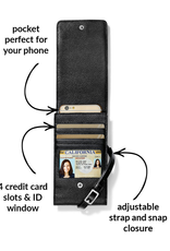 BRIGHTON PRETTY TOUGH PHONE ORGANIZER-BLACK