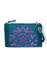 BRIGHTON JOURNEY TO INDIA EMBROIDERED CROSS BODY