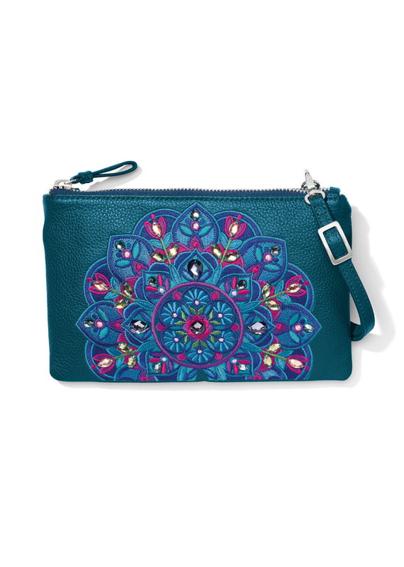 BRIGHTON Journey to India Embroidered Crossbody