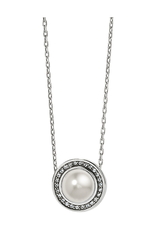 BRIGHTON CHARA ELIPSE PEARL SHORT NECKLACE