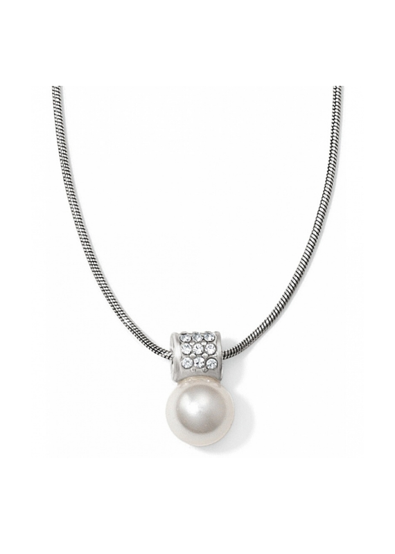 BRIGHTON MERIDIAN PETITE PEARL NECKLACE