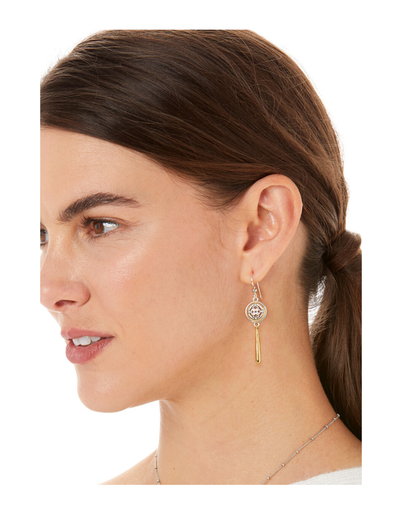 BRIGHTON INTRIGUE TEARDROP EARRINGS