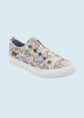 BLOWFISH PLAY-GRAY GYPSY CANVAS SNEAKER