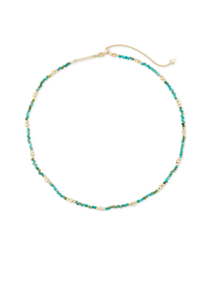 KENDRA SCOTT SCARLET CHOKER NECKLACE TURQUOISE