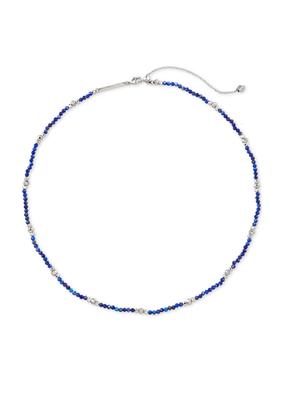 KENDRA SCOTT SCARLET CHOKER NECKLACE BLUE LAPIS