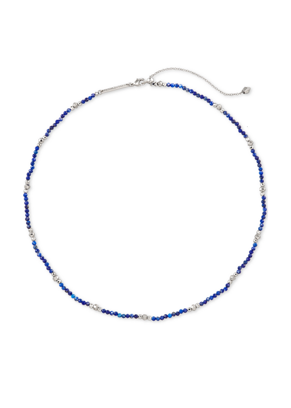 KENDRA SCOTT SCARLET CHOKER NECKLACE BLUE LAPIS