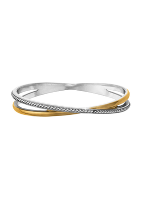 BRIGHTON NEPTUNE'S RINGS  DOUBLE BANGLE