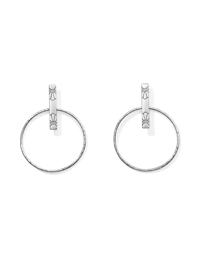 BRIGHTON MARRAKESH SOLEIL POST HOOP EARRING