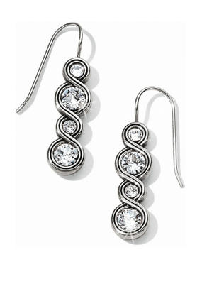 BRIGHTON INFINITY SPARKLE FRENCH WIRE EARRING