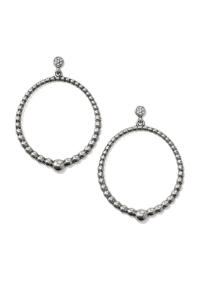 BRIGHTON MERIDIAN PETITIE POST HOOP EARRINGS