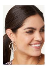 BRIGHTON MERIDIAN PETITIE POST HOOP EARRINGS