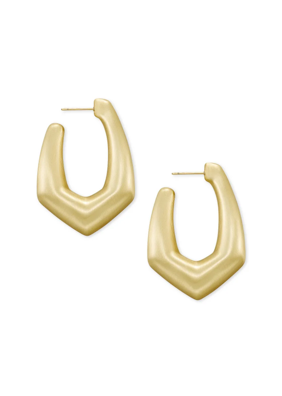 KENDRA SCOTT Kaia Hoop Gold Earring