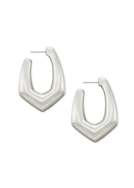 KENDRA SCOTT Kaia Silver Hoop Earring