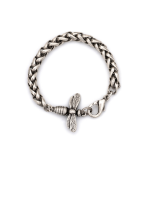 FRENCH KANDE CHEVAL CHAIN WITH MIEL PENDANT
