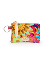 CONSUELA TRISTA BUSY FLORAL TEENY POUCH