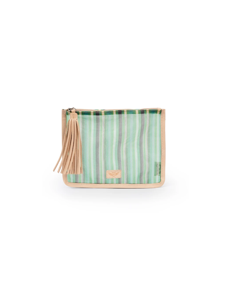 CONSUELA ANN GREEN ANYTHING GOES POUCH