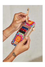CONSUELA TRISTA BUSY FLORAL CARD ORGANIZER