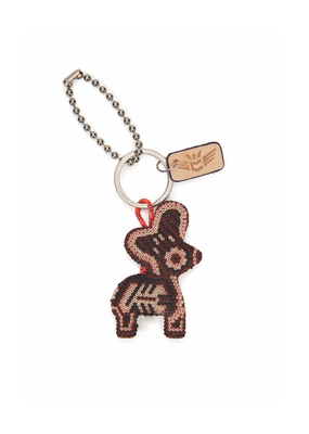 CONSUELA DONKITO BROWN BAG CHARM