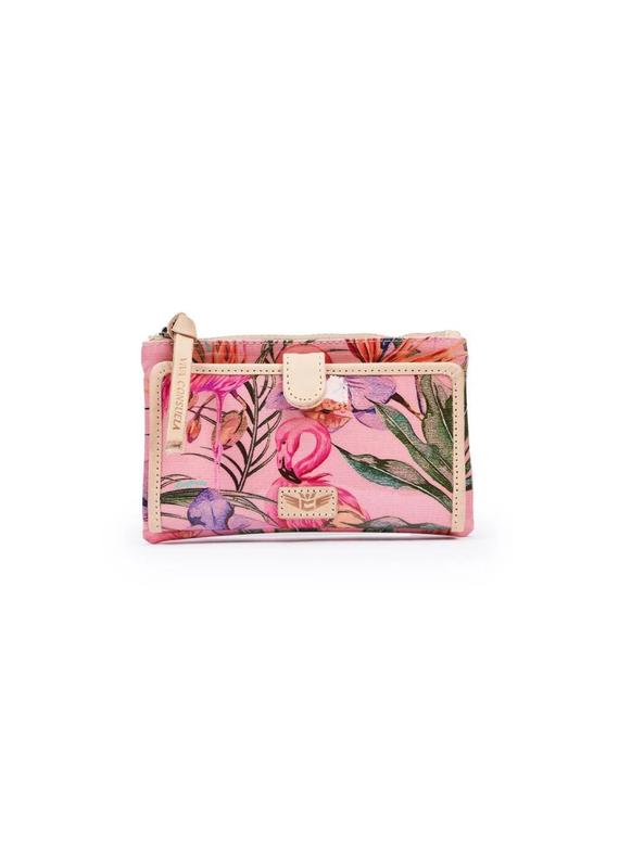 CONSUELA Brynn Flamingo Slim Wallet