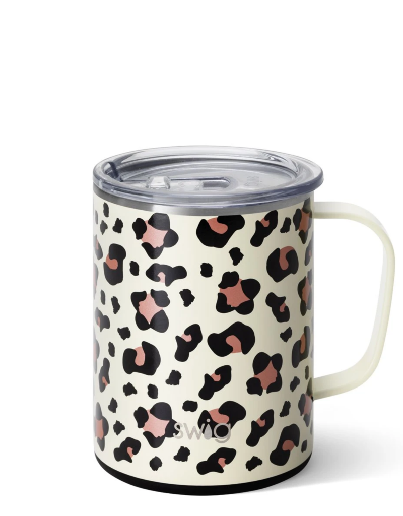 SWIG Luxy Leopard Mega Mug  (24 OZ)