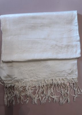 FASHION CITY CREAM SCARF